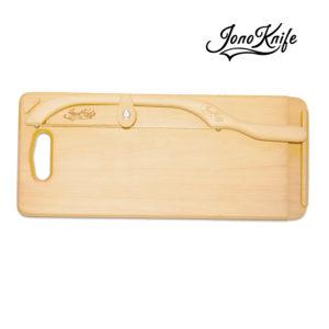 Beech breadboard with Original JonoKnife