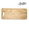 Oak breadboard with Original JonoKnife