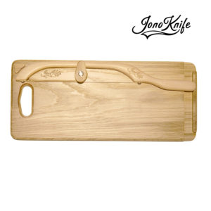 Oak breadboard with Original JonoKnife