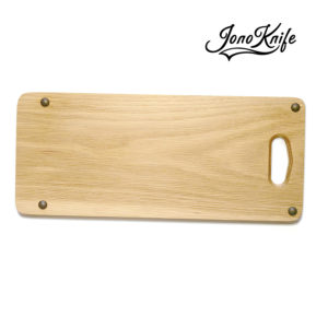 Oak JonoKnife breadboard with rubber feet