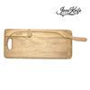 Oak breadboard with XL JonoKnife