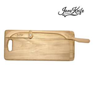 Oak breadboard with XL JonoKnife
