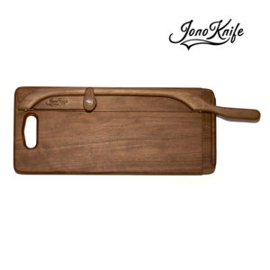 Walnut breadboard with XL JonoKnife