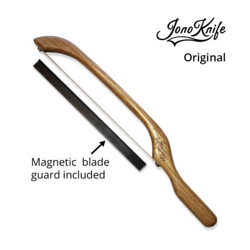 Oak JonoKnife with blade guard